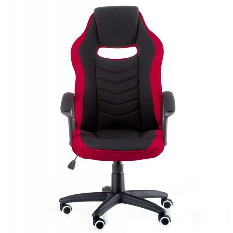 Крісло офісне Special4You Riko black/red (E5234)