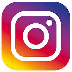 """Наклейка на кулю 18"""" Instagram / Інстаграм"""