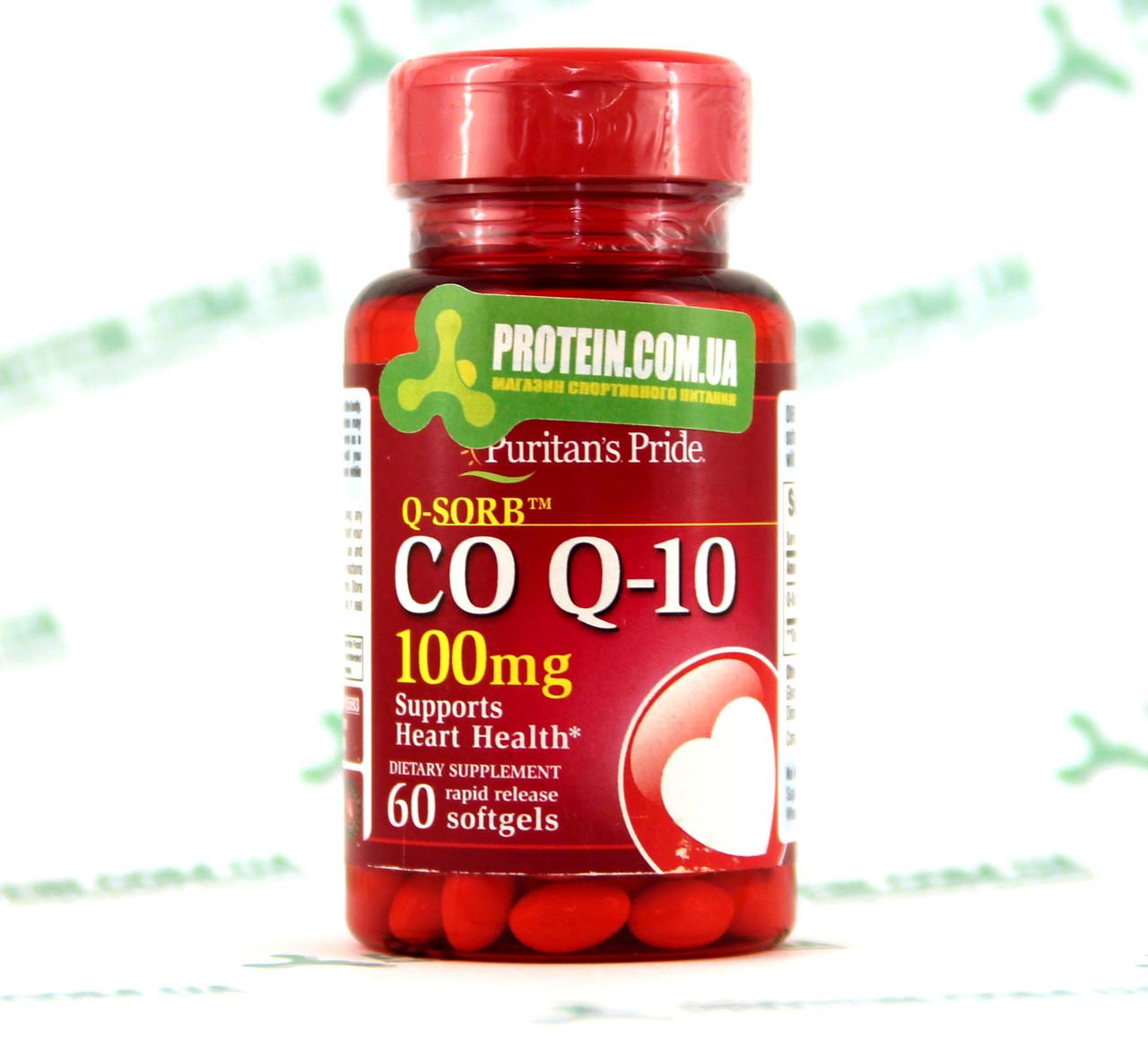 Коензим Q10 Puritans Pride CO Q-10 100 мг 60 капс