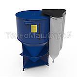 Смеситель корма, кормосмеситель (кормозмішувач) «КС - 1500», фото 2
