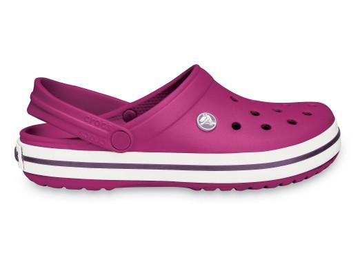 Кроксы летние Crocs Crocband малиновые