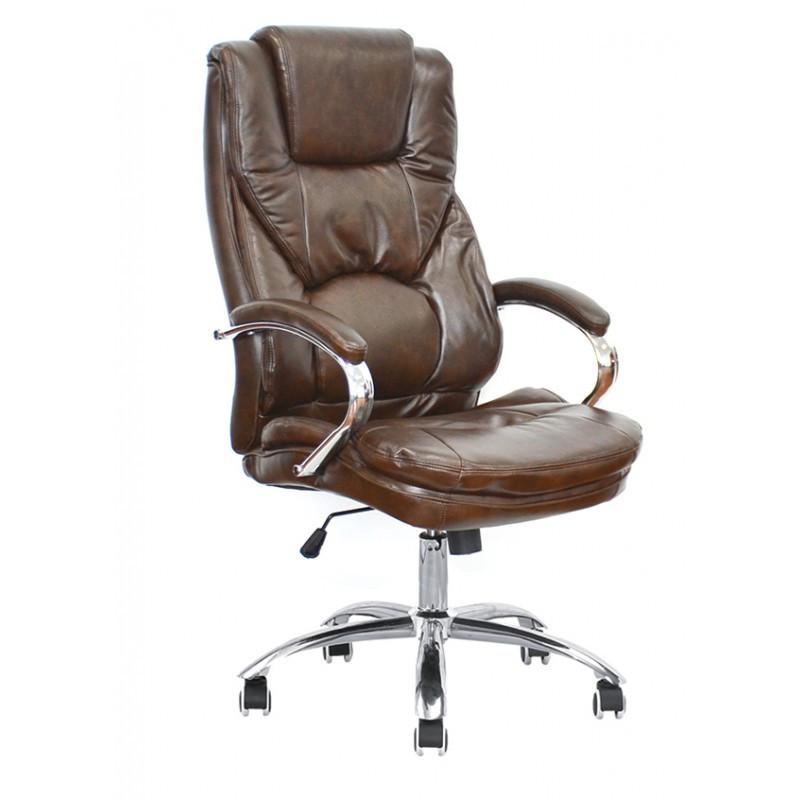 Крісло офісне Special4You Rain brown (E6002)