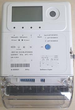 Трехфазный счетчик многотарифный ЛЕТ 01 2022R-LOS22S 3х220/380В 5(100)А реле, актив - реактив