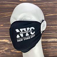 Черная маска на лицо - New York, фото 1