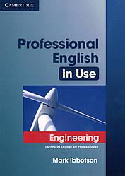 Учебник  Professional English in Use Engineering + key