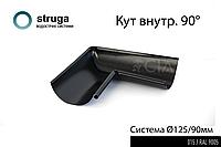 Кут внутрішній 90* (9005/015) 125/90_STRUGA