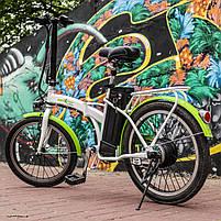 Електровелосипед Maxxter URBAN (white-green), фото 2