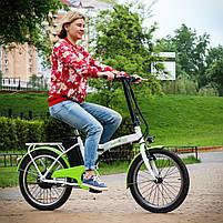 Електровелосипед Maxxter URBAN (white-green), фото 3