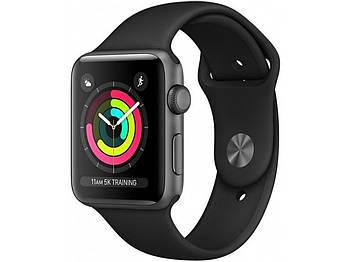 Смарт-годинник Apple Watch AppleВWatch SeriesВ3 GPS 38mm Space Grey Aluminium Case with Black Sport