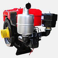 Двигатель дизельный Кентавр ДД1125ВЭ с водяным охлаждением (30 л.с.) с электростартером для минитракторов