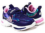 Кросівки дитячі Clibee L-72 для дівчинки темносині 28 розмір