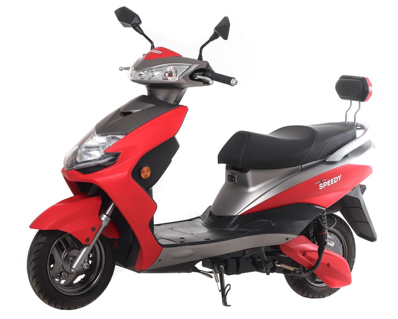 Електроскутер Maxxter SPEEDY (Red-Gray)