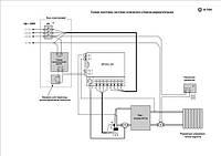 Схема монтажа системы отопления с баком-аккумулятором.