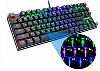 Механическая игровая клавиатура Zuoya (RGB подсветка клавиш)