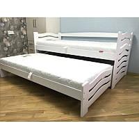"""Одноярусне ліжко з виїзним спальним місцем """"Мальвіна"""""""