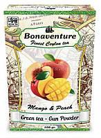 "Чай зелений Чай Bonaventure ""Mango & Peach"" Манго Персик 100 г"