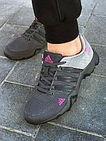 Женские кроссовки в стиле Adidas AX2  серые, фото 1