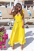 Женское летнее платье с открытой спиной 2 цвета, фото 1