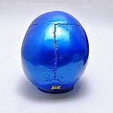 Череп декоративный синий в натуральную величину из гипса, фото 4