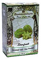 Чай зелений з карамболем Bonaventure Starfruit 100 г