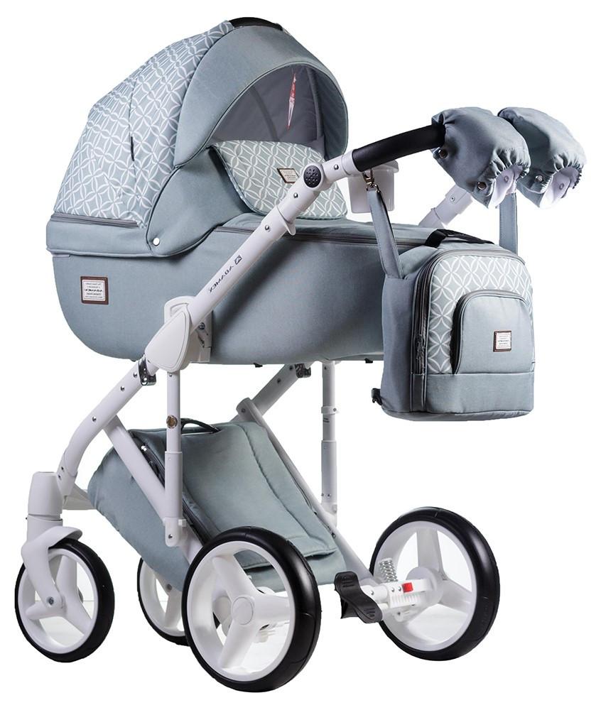 Детская универсальная коляска 2 в 1 Adamex Luciano Q-221