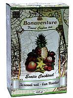 Чай зелений з екзотичними фруктами Bonaventure Exotic Cocktail 100 г