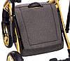 Детская универсальная коляска 2 в 1 Adamex Luciano Polar Graphite Q89, фото 9