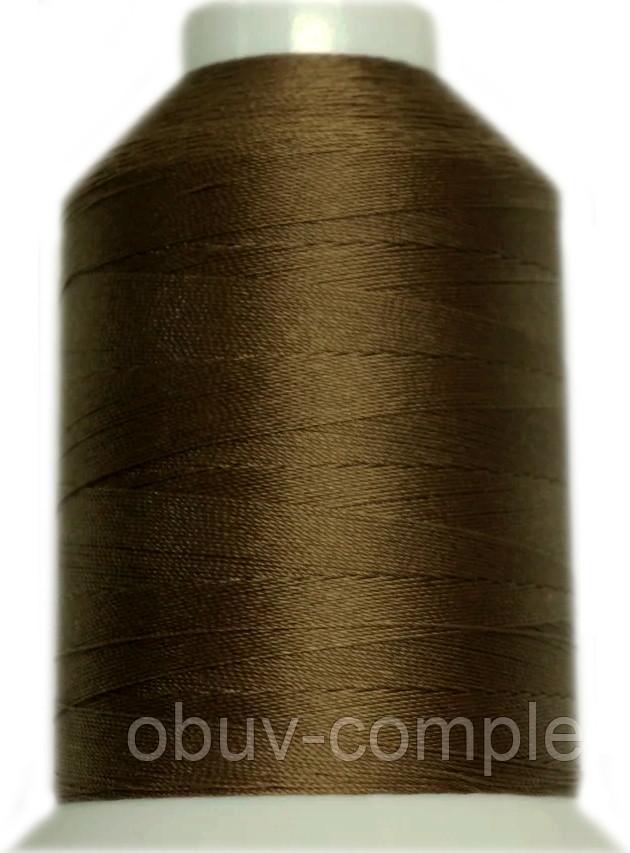 Нить Титан №20 2000 м. Польша цвет (2560) коричневий