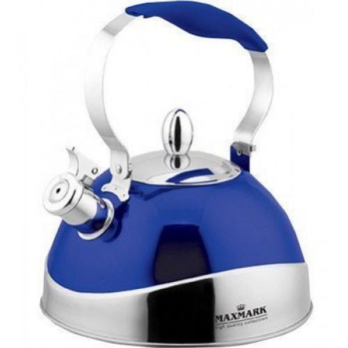 Чайник для плиты MAXMARK MK-1315 (синий, 2.7 л.)