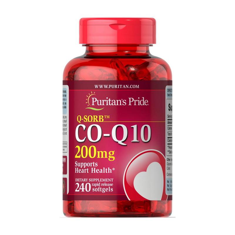 Q-SORB™ Co Q-10 200 mg 240 Rapid Release Softgels