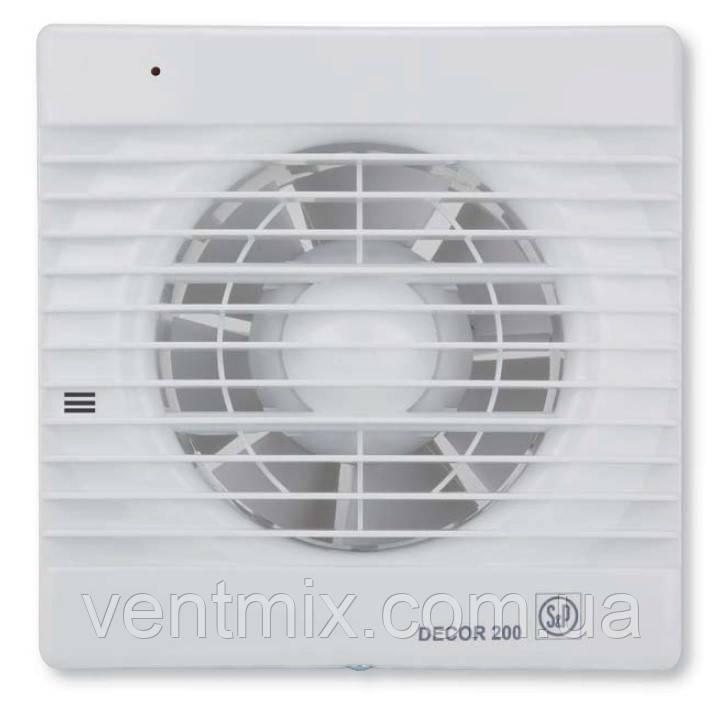 Вентилятор вытяжной DECOR-200 C