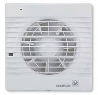 Вентилятор вытяжной DECOR-200 C, фото 1