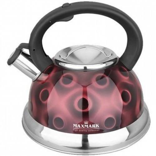 Чайник для плиты MAXMARK MK-1320 (нерж., 3 л.)