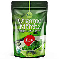 Органический порошок  Matcha Green Tea  - 100% веганский натуральный Matchа зеленый чай для выпекания и смузи