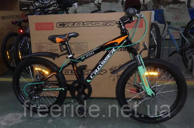 """Детский спортивный велосипед Crosser Boy 20"""" XC-200, фото 2"""