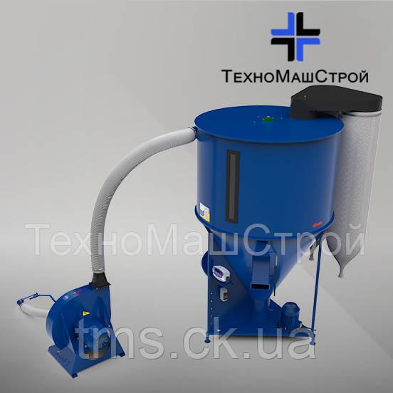 Кормосмеситель КС-1000 с зерноизмельчителем KRAFT 11 кВт.