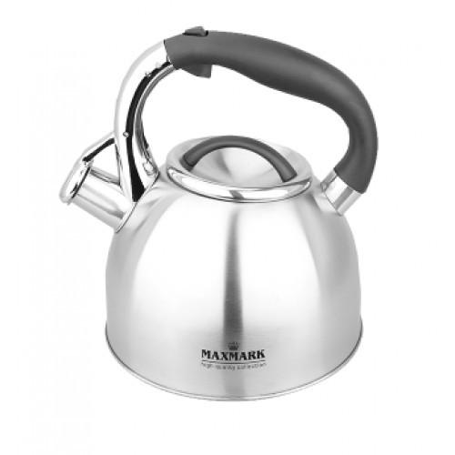 Чайник для плиты MAXMARK MK-1319 (нерж., 2.7 л.)