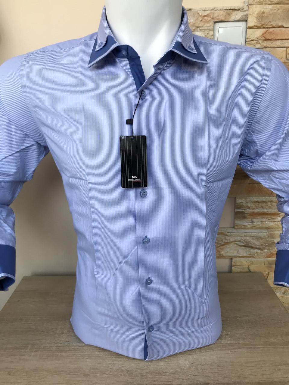 Рубашка длинный рукав Franko Manutti