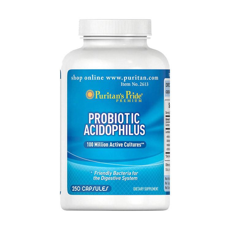 Puritan's Pride Probiotic Acidophilus (250 капсул)
