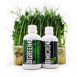 2 х 100 мл Green Kit набор удобрений для гидропоники и почвы