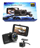 Авторегистратор T805/CT520/S16 | Автомобильный видеорегистратор на 2 камеры, фото 1