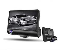 Авторегистратор XH202/319 | Автомобильный видеорегистратор с 3 камерами, фото 1