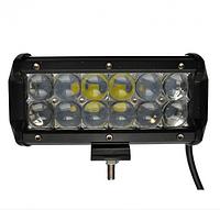 Автофара LED на крышу 12 LED 5D-36W-SPOT 160х70х80 | Светодиодная балка на крышу, фото 1