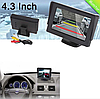 """Монитор для камеры заднего вида 4,3"""" JL403HR   Дисплей LCD для автомобиля"""