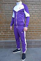 Спортивный костюм мужской Nike Heritage x violet осенний весенний | ЛЮКС качество, фото 1