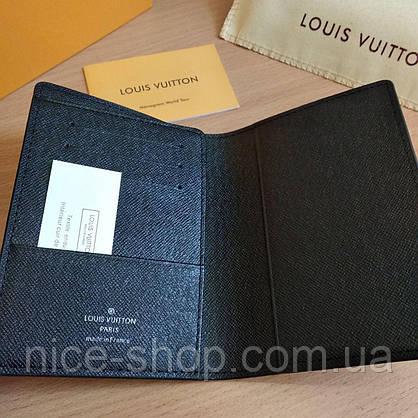 Обложка для паспорта  Louis Vuitton в коробке, кожа, фото 3