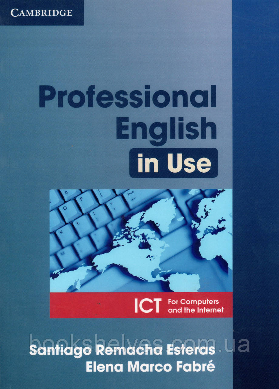 Підручник Professional English in Use ICT + key