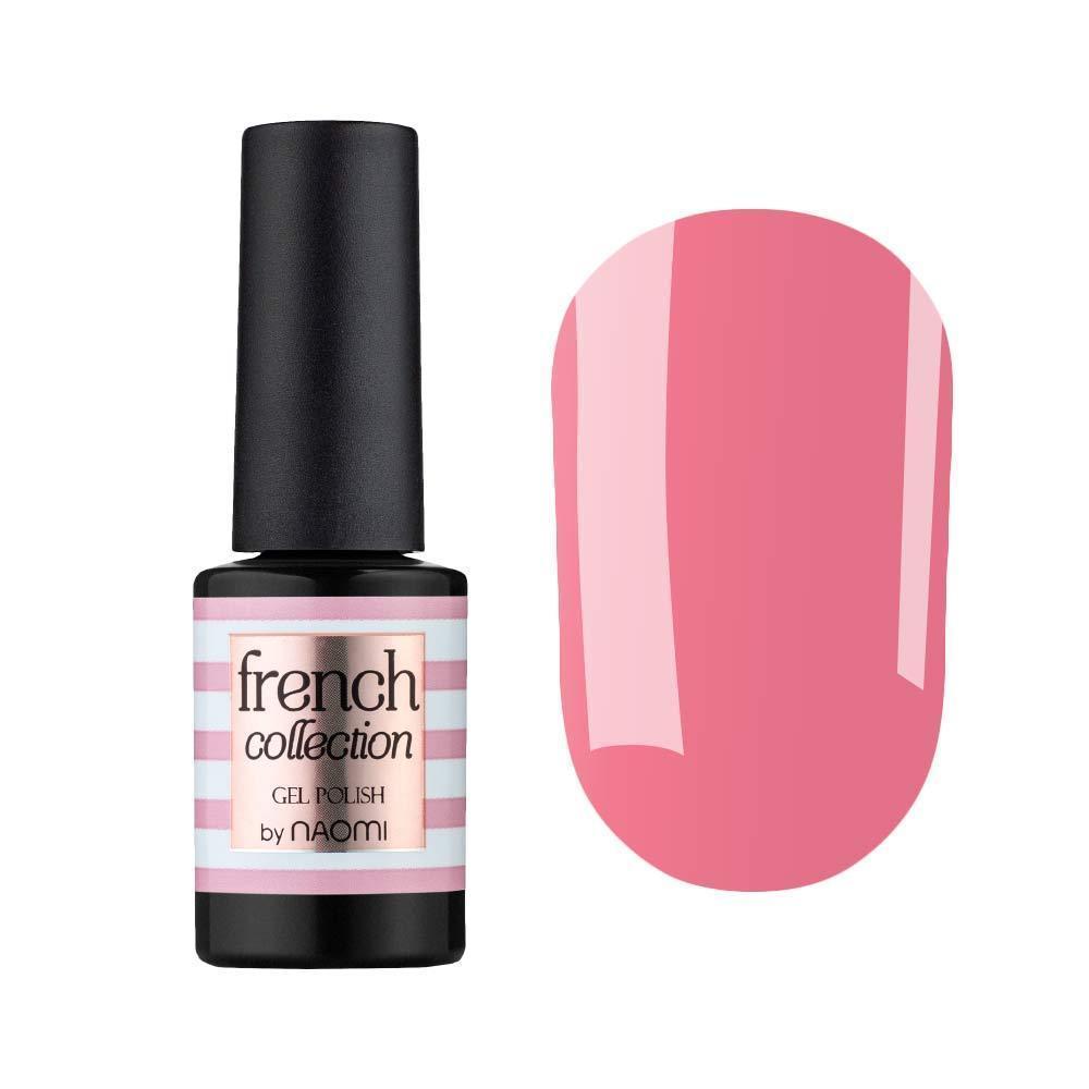 Гель-лак для ногтей  Naomi French collection FC05 Темно-розовый, 6мл