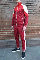 Спортивный костюм мужской Nike Heritagex burgundy осенний весенний   ЛЮКС качество