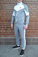 Спортивный костюм мужской Nike Heritage x grey осенний весенний | ЛЮКС качество, фото 1